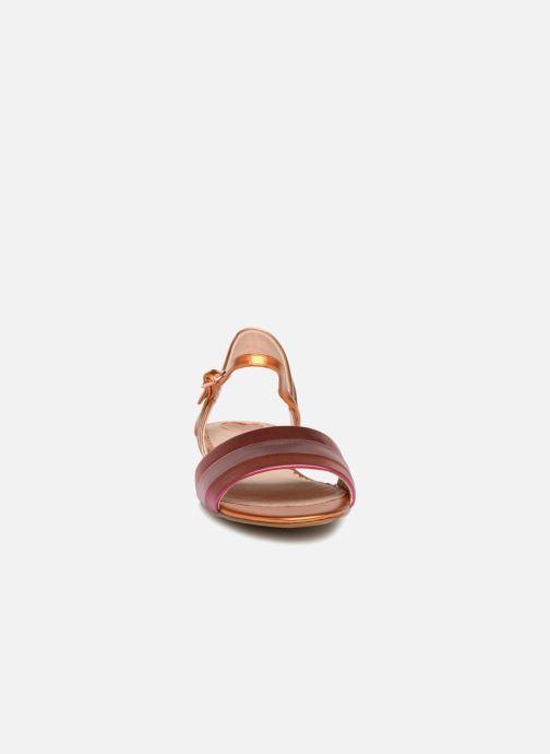 Sandales et nu-pieds Mellow Yellow Dany Orange vue portées chaussures
