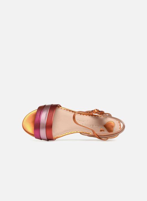Sandales et nu-pieds Mellow Yellow Dany Orange vue gauche
