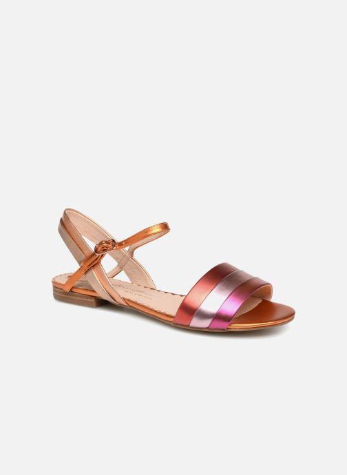 Sandales et nu-pieds Mellow Yellow Dany Orange vue détail/paire
