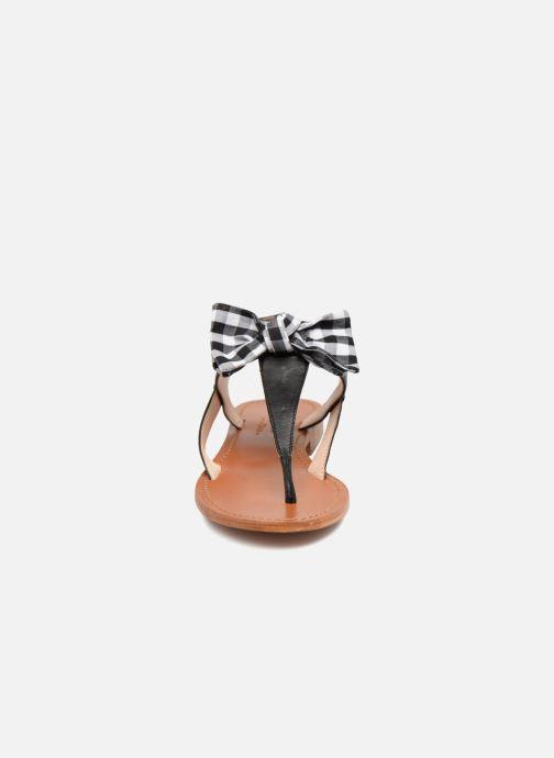 Sandales et nu-pieds Mellow Yellow Dallydolly Noir vue portées chaussures