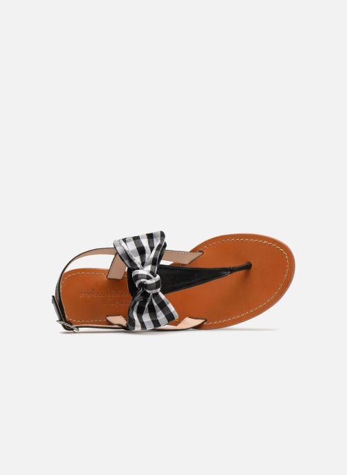 Sandali e scarpe aperte Mellow Yellow Dallydolly Nero immagine sinistra