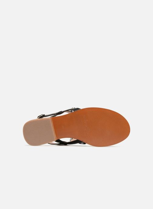 Sandales et nu-pieds Mellow Yellow Dallydolly Noir vue haut