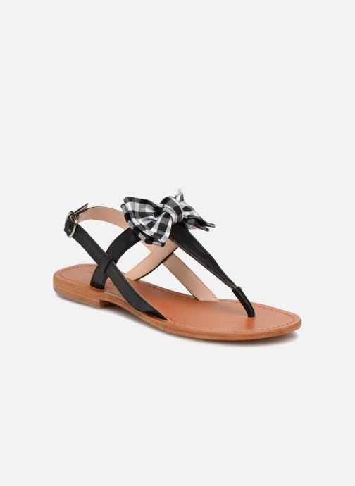 Sandales et nu-pieds Mellow Yellow Dallydolly Noir vue détail/paire