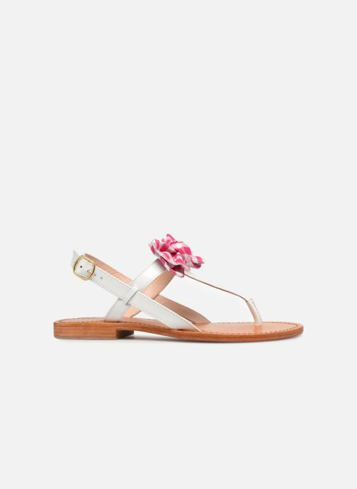 Sandales et nu-pieds Mellow Yellow Dallydolly Blanc vue derrière