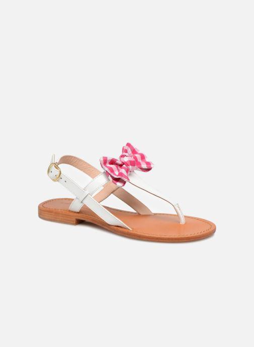Sandales et nu-pieds Mellow Yellow Dallydolly Blanc vue détail/paire