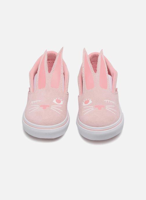 Sneakers Vans TD Slip-On Bunny Roze 3/4'