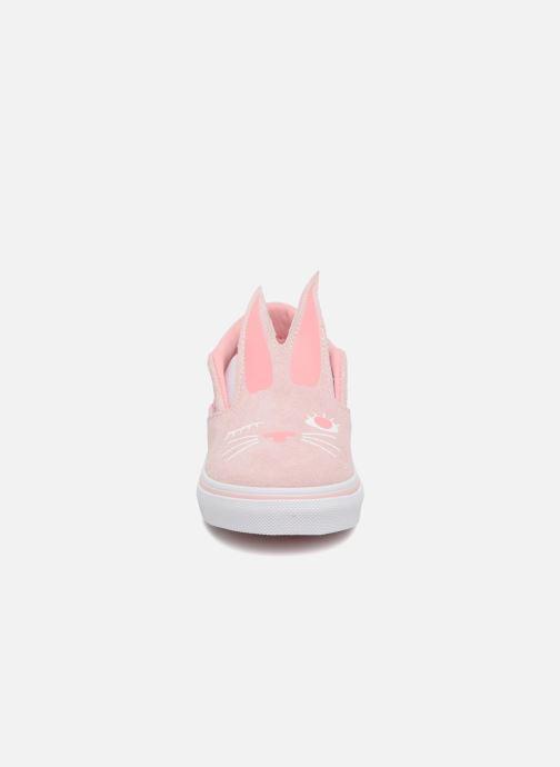 Sneakers Vans TD Slip-On Bunny Roze model