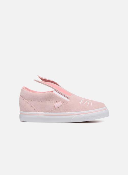 Sneakers Vans TD Slip-On Bunny Roze achterkant