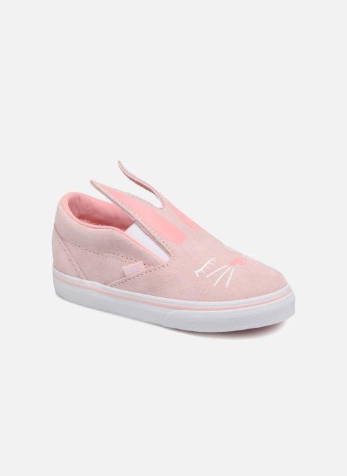 Sneakers Vans TD Slip-On Bunny Roze detail