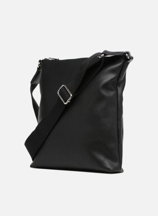 Handtassen Esprit Anna Middle Shoulder bag Zwart rechts