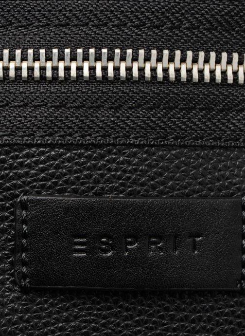 Handtassen Esprit Anna Middle Shoulder bag Zwart links