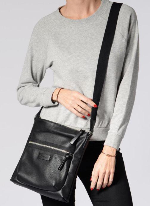 Handtassen Esprit Anna Middle Shoulder bag Zwart boven