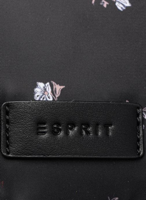 Rugzakken Esprit Annie Backpack Flower Zwart links