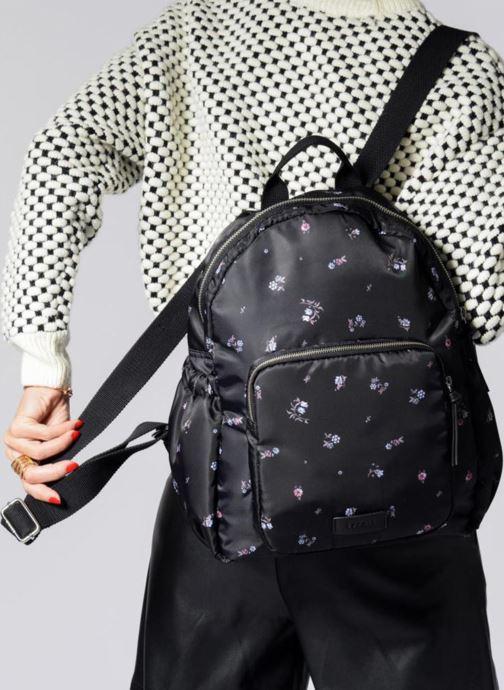Rugzakken Esprit Annie Backpack Flower Zwart onder