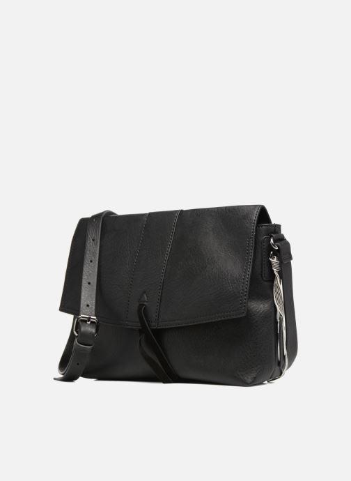 Borse Esprit Abby Shoulder bag Nero modello indossato