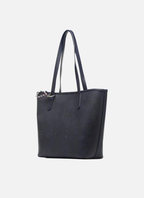 Handtassen Esprit Alison Shopper Blauw voorkant