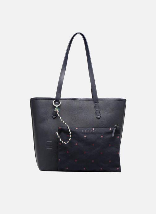 Handtassen Esprit Alison Shopper Blauw links