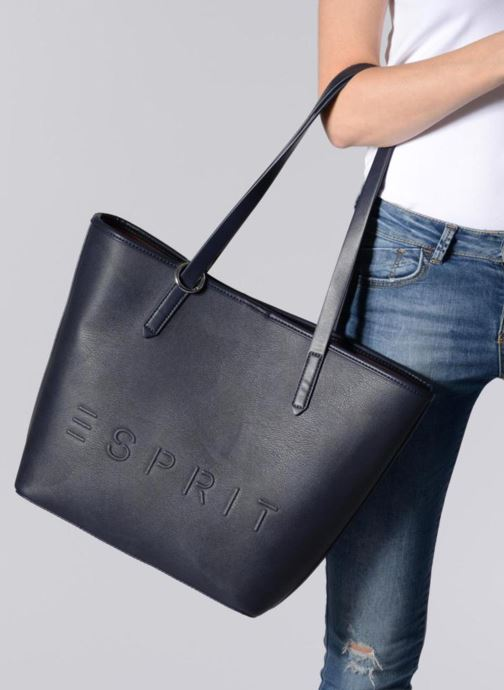 Handtassen Esprit Alison Shopper Blauw boven