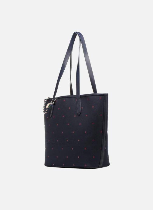 Bolsos de mano Esprit Alison Dot Shopper Azul vista del modelo