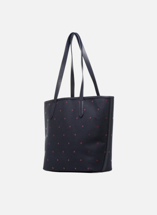 Handbags Esprit Alison Dot Shopper Blue view from the right