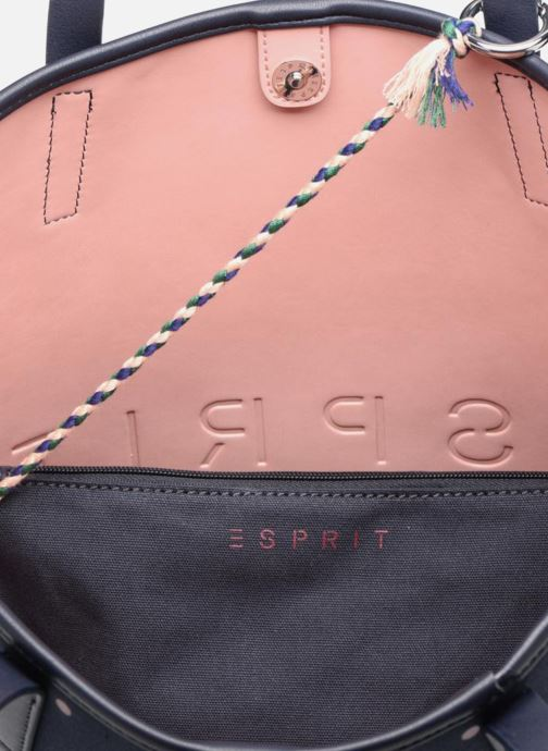 Handtassen Esprit Alison Dot Shopper Blauw achterkant