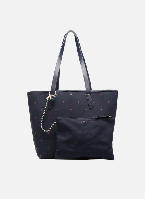 Handtassen Esprit Alison Dot Shopper Blauw links