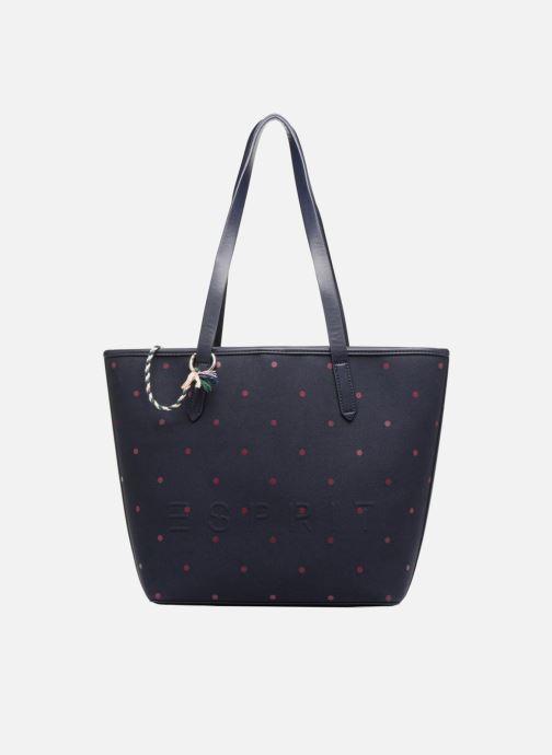 Sacs à main Esprit Alison Dot Shopper Bleu vue détail/paire