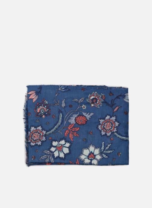 Scarf Esprit Patchwork Print Scarf 100x190 Blue model view