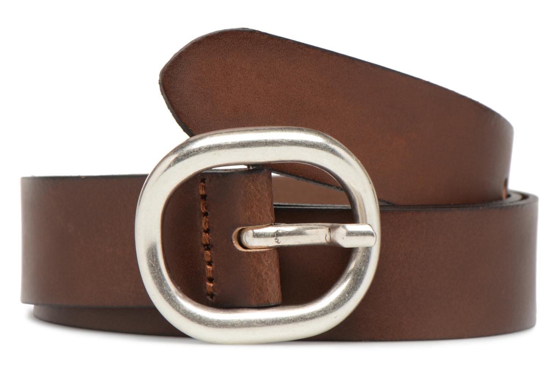 Ceintures Esprit Denim Leather Belt 20mm Marron vue détail/paire