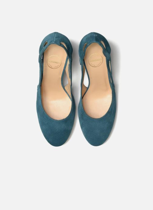 High heels Made by SARENZA Carioca Crew Escarpins #3 Green model view