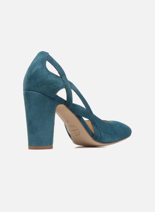 High heels Made by SARENZA Carioca Crew Escarpins #3 Green front view