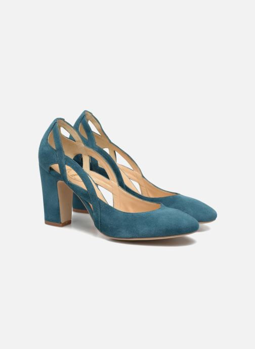 High heels Made by SARENZA Carioca Crew Escarpins #3 Green back view