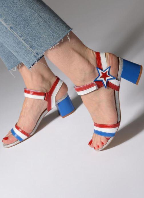Sandales et nu-pieds Made by SARENZA 90's Girls Gang Sandales à Talons #1 Multicolore vue bas / vue portée sac