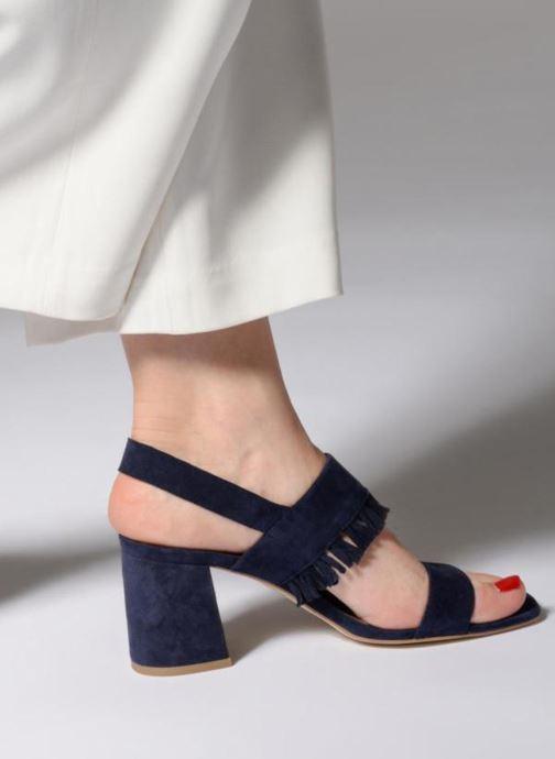 Sandales et nu-pieds Made by SARENZA Bombay Babes Sandales à Talons #1 Bleu vue bas / vue portée sac
