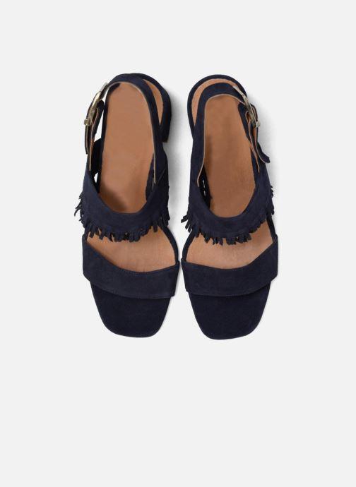 Sandales et nu-pieds Made by SARENZA Bombay Babes Sandales à Talons #1 Bleu vue portées chaussures