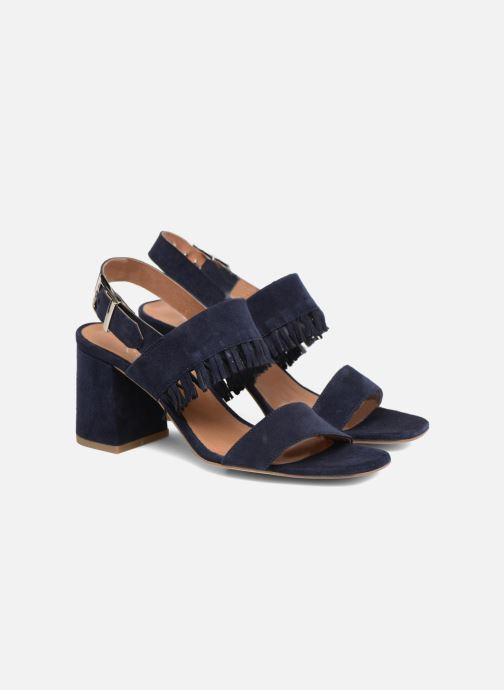 Sandales et nu-pieds Made by SARENZA Bombay Babes Sandales à Talons #1 Bleu vue derrière