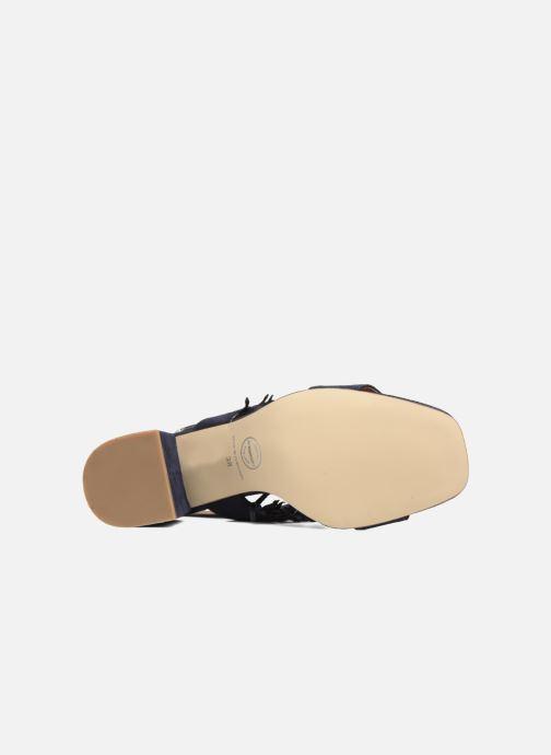Sandales et nu-pieds Made by SARENZA Bombay Babes Sandales à Talons #1 Bleu vue haut