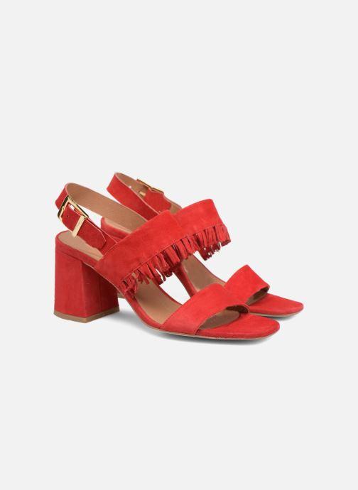 Sandali e scarpe aperte Made by SARENZA Bombay Babes Sandales à Talons #1 Rosso immagine posteriore
