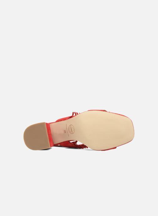 Sandali e scarpe aperte Made by SARENZA Bombay Babes Sandales à Talons #1 Rosso immagine dall'alto
