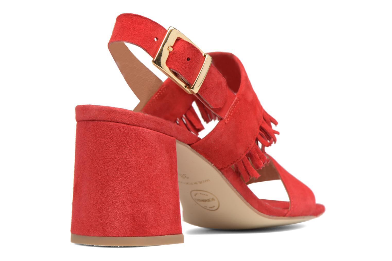 Sandales et nu-pieds Made by SARENZA Bombay Babes Sandales à Talons #1 Rouge vue face