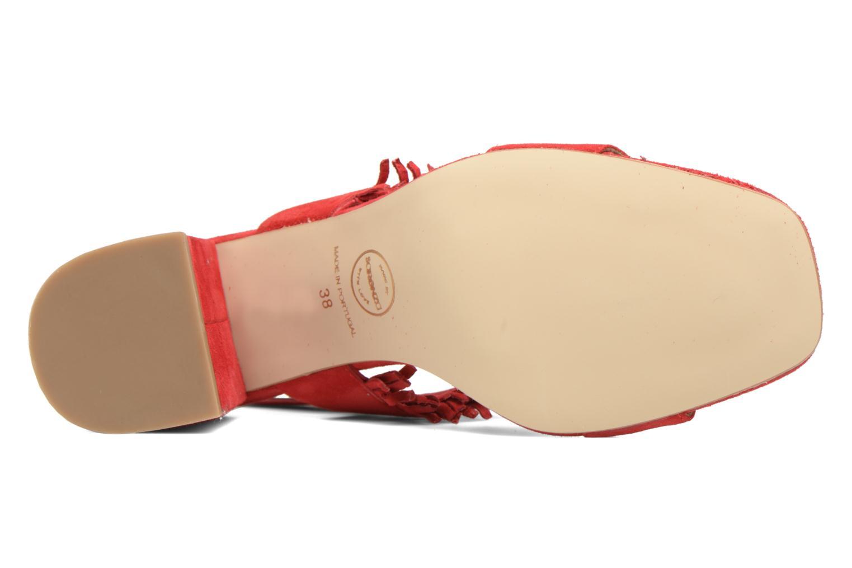 Sandales et nu-pieds Made by SARENZA Bombay Babes Sandales à Talons #1 Rouge vue haut