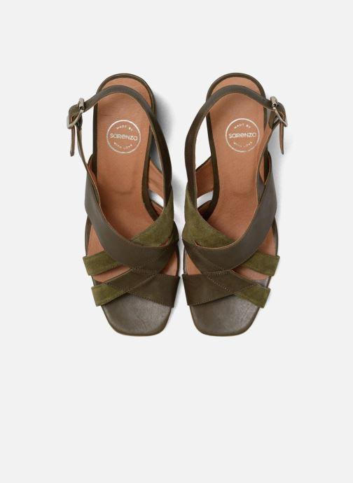 Sandales et nu-pieds Made by SARENZA 90's Girls Gang Sandales à Talons #2 Vert vue portées chaussures