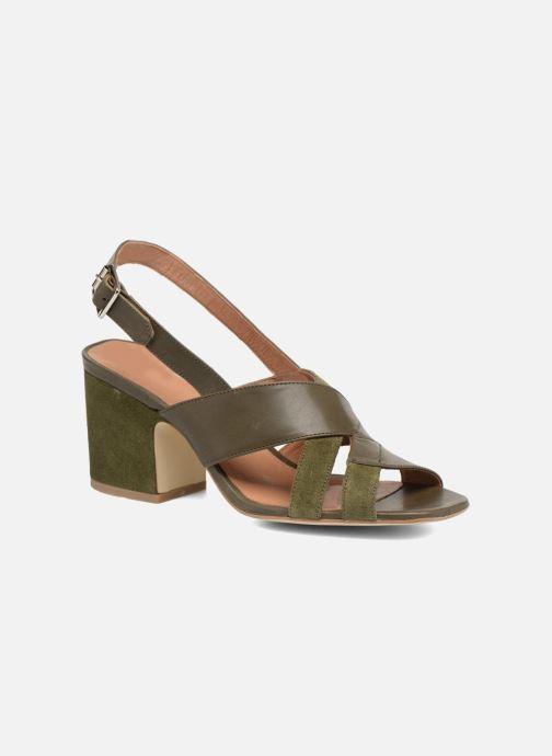 Sandales et nu-pieds Made by SARENZA 90's Girls Gang Sandales à Talons #2 Vert vue droite