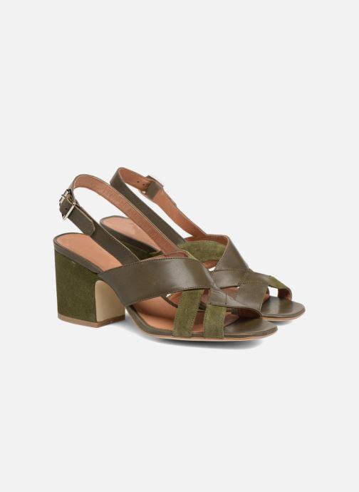 Sandales et nu-pieds Made by SARENZA 90's Girls Gang Sandales à Talons #2 Vert vue derrière