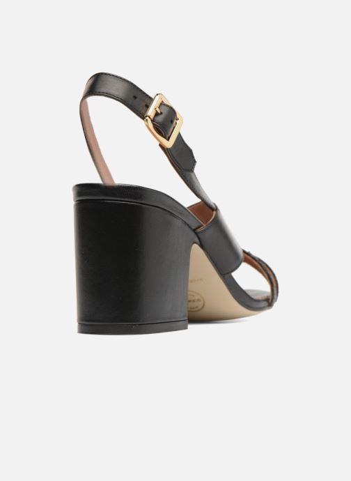 Sandali e scarpe aperte Made by SARENZA 90's Girls Gang Sandales à Talons #2 Nero immagine frontale