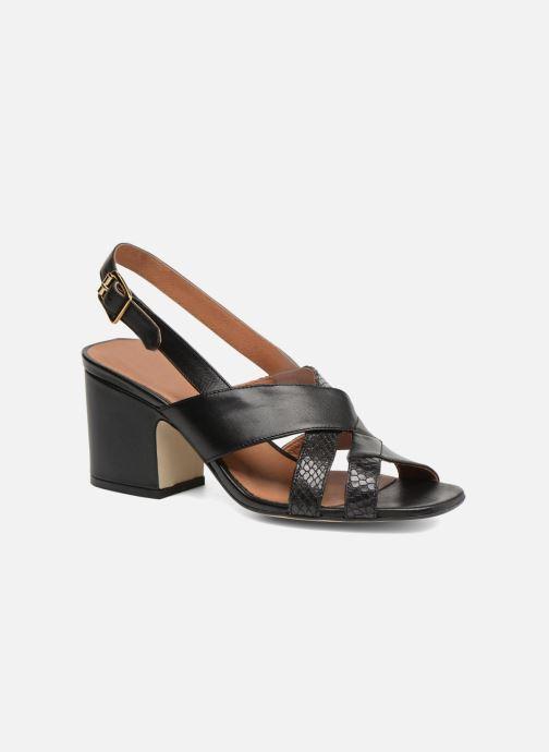 Sandali e scarpe aperte Made by SARENZA 90's Girls Gang Sandales à Talons #2 Nero immagine destra