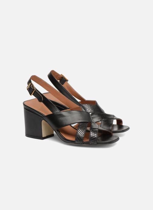 Sandales et nu-pieds Made by SARENZA 90's Girls Gang Sandales à Talons #2 Noir vue derrière