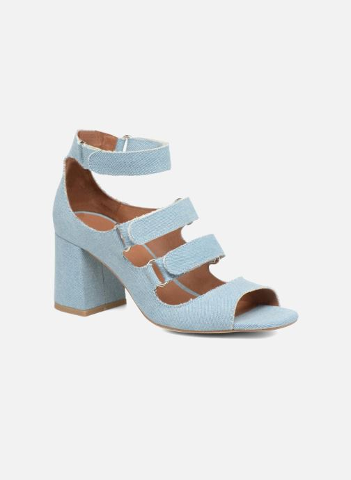 Sandales et nu-pieds Made by SARENZA 90's Girls Gang Sandales à Talons #3 Bleu vue droite
