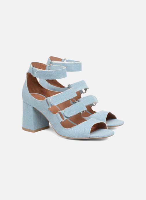 Sandales et nu-pieds Made by SARENZA 90's Girls Gang Sandales à Talons #3 Bleu vue derrière