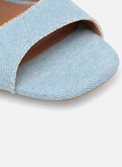 Sandales et nu-pieds Made by SARENZA 90's Girls Gang Sandales à Talons #3 Bleu vue gauche
